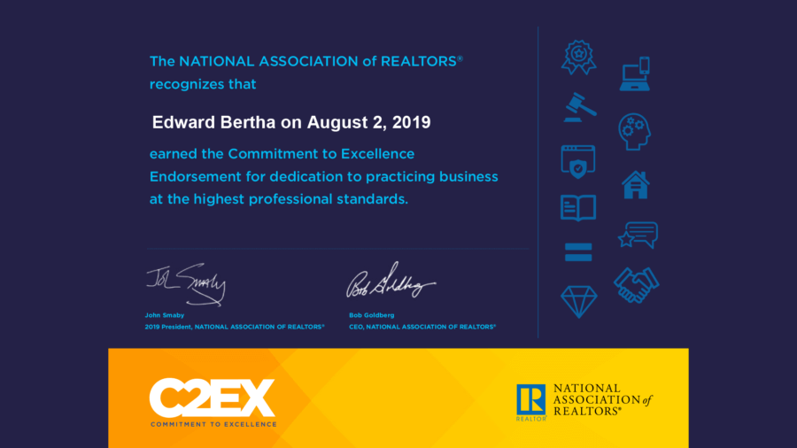 Mational Association of Realtors Commitment to Excellence
