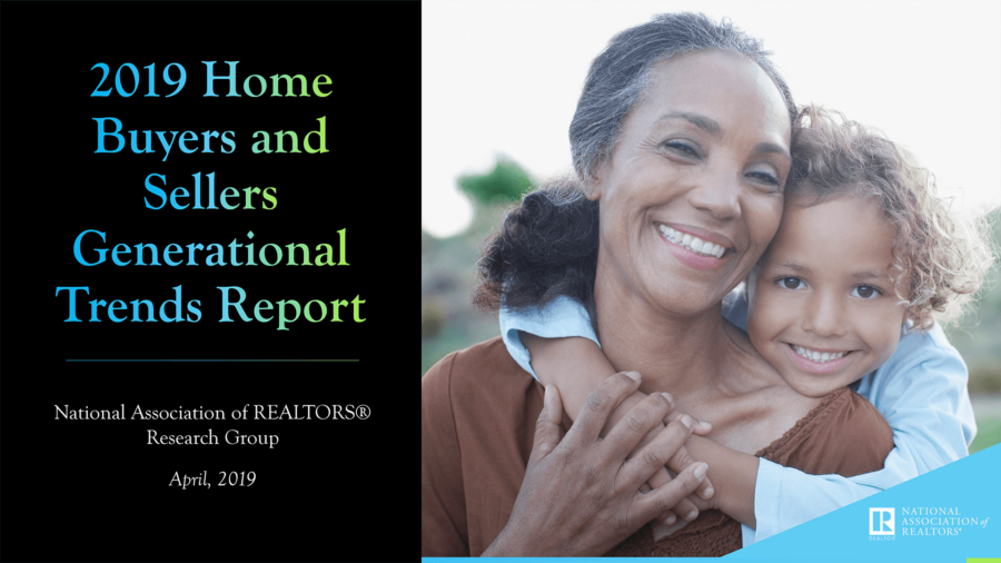 2019 Home Buyers And Sellers Generational Trends