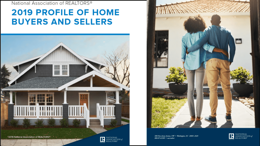 National Association Of Realtors 2019 Profile of Home Buyers and Sellers