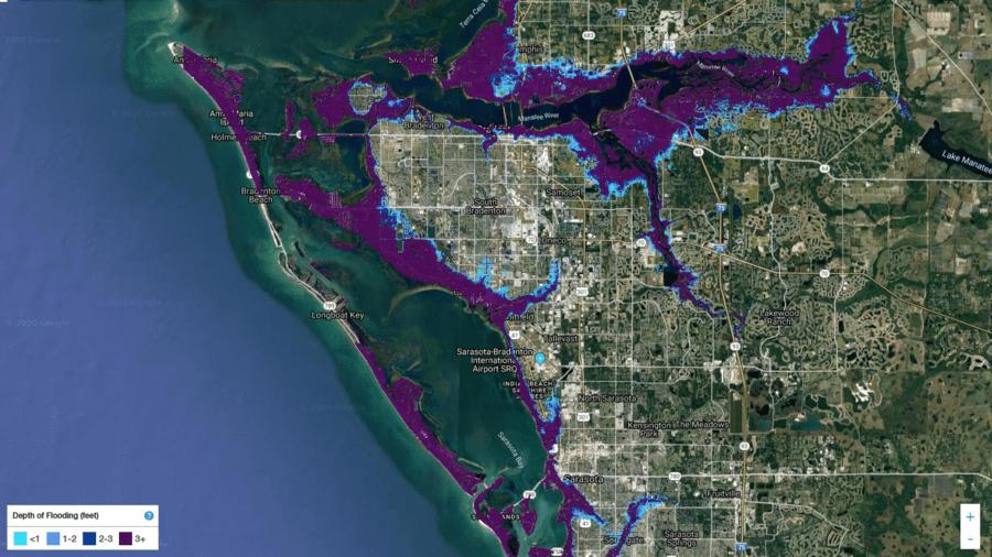 Sarasota Manatee Flood Map