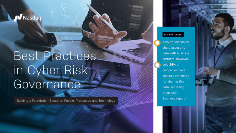 NASDAQ Shares Best Practices For Minimizing Cyber Risk
