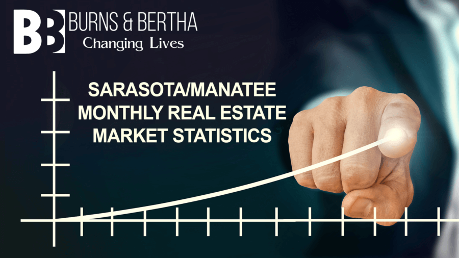 Burns and Bertha Sarasota Manatee Monthly Real Estate Sales