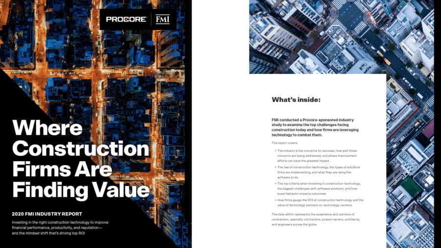 Where Construction Firms Are Finding Value Industry Report